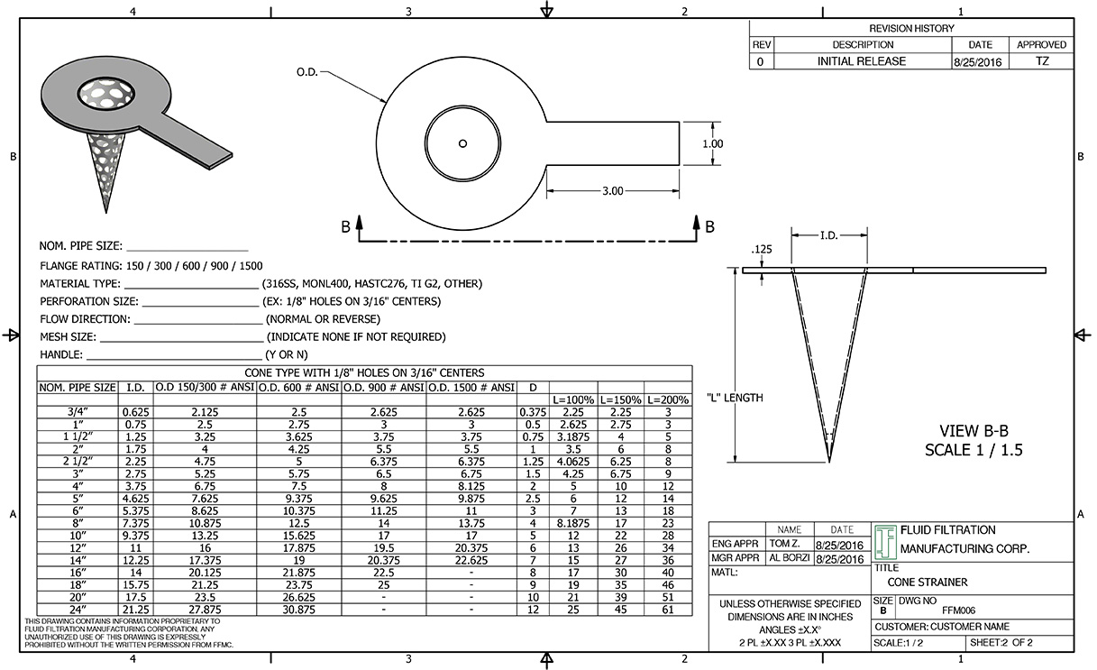 Temporary cone basket and flat type strainers nvjuhfo Choice Image